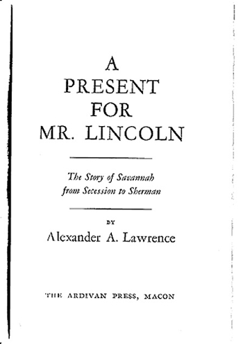 A Present for Mr. Lincoln