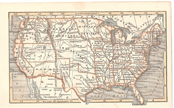 USA before Gadsden Purchase of 1853