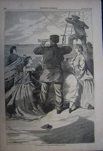 The Approach of the British Pirate