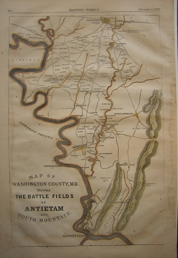 Map of Washington County, Md. Showing . . .