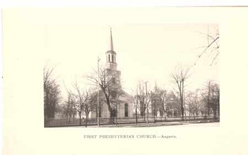 First Presbyterian Church.-Augusta.