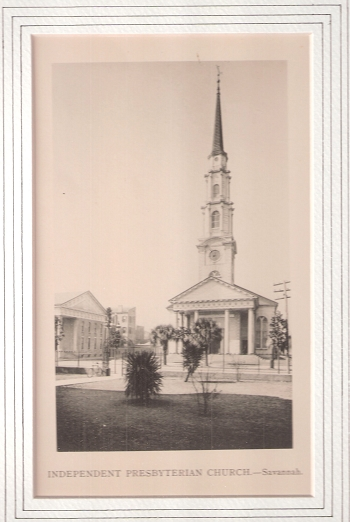 Independent Presbyterian Church.-Savannah.