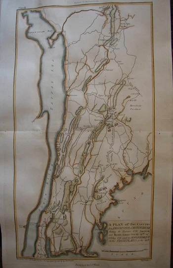 A Plan of the Country from Frog's Point to Croton River