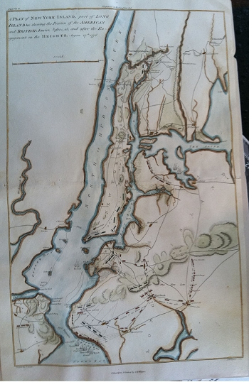 Plan of New York Island