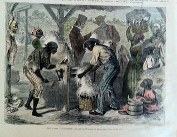 The First Cotton-Gin.