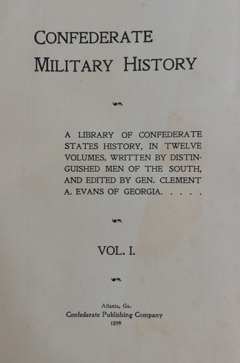 Confederate Military History, Vol. 1-X11