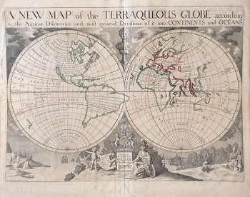 A New Map of the Terraqueos Globe . . .