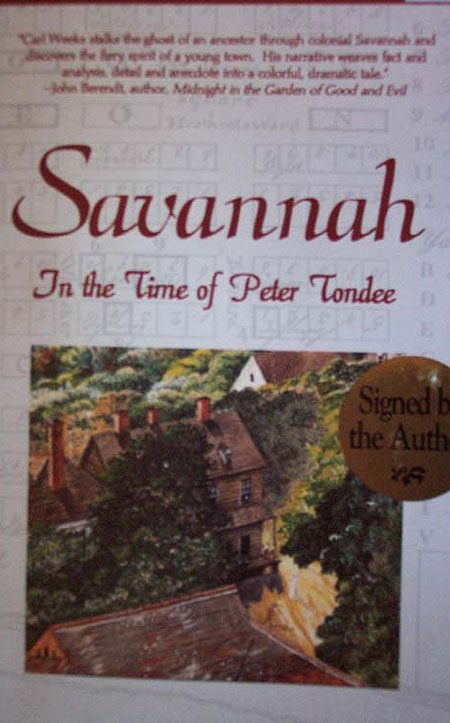 Savannah in the Time of Peter Tondee