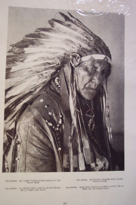 Big Chief White Horse Eagle . .