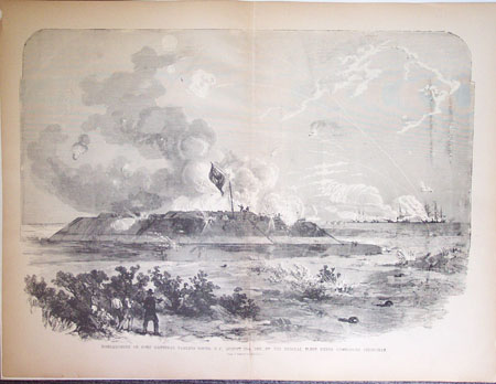 Bombardment of Fort Hatteras, . . .